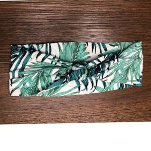 H&M Palm Leaf Headband